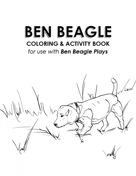 Ben Beagle Coloring & Activity Book